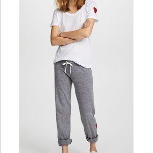 Monrow Heart Lounge Pants